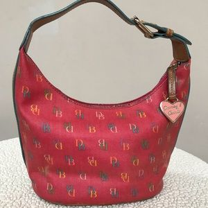 DOONEY & BOURKE RAINBOW MONOGRAM MINI BAG
